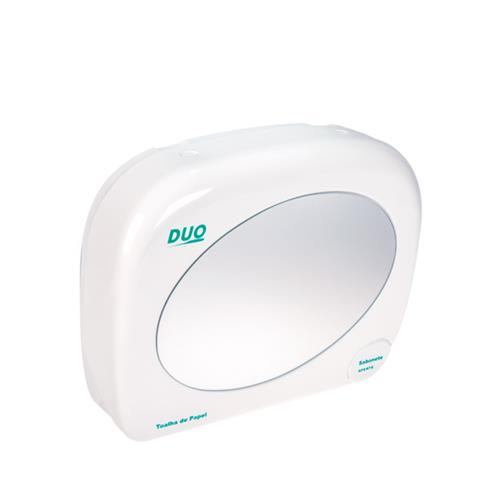 Dispenser Duo - Toalheiro Com Saboneteira E Espelho - Biovis