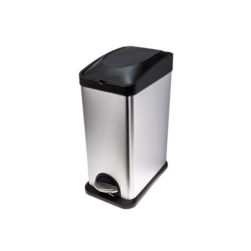 Lixeira Para Coleta De Aço Inox 15 Litros - Biovis