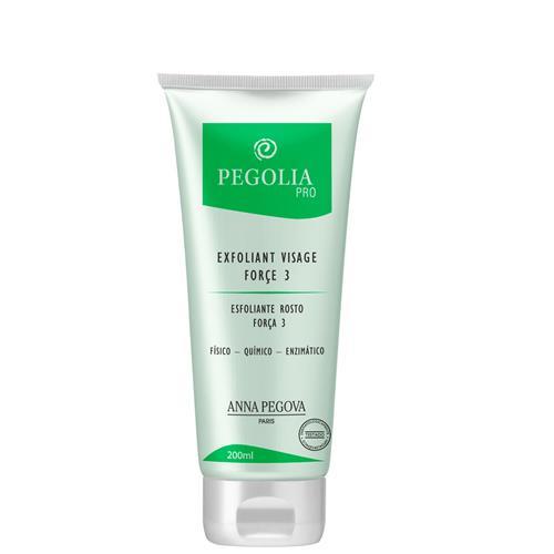 Gel Esfoliante Facial - Peeling 3 Em 1 Físico, Químico E Enzimático 200Ml - Pegolia Pro