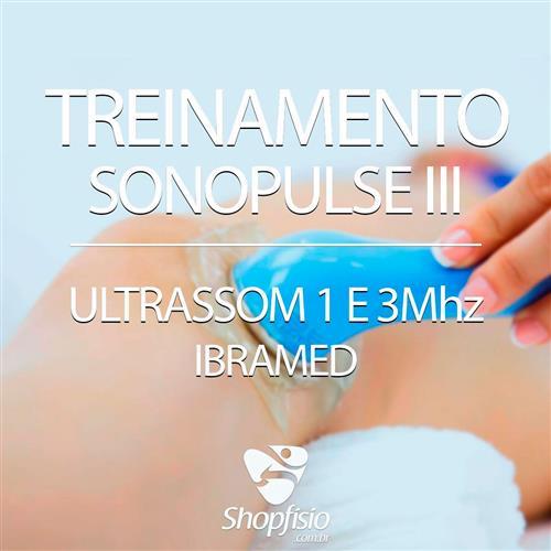 Treinamento Sonopulse Iii Ultrassom 1 E 3Mhz - Ibramed