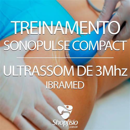 Treinamento - Sonopulse Compact Ultrassom 3Mhz - Ibramed
