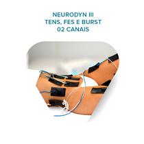 Treinamento - Neurodyn Iii - Tens, Fes E Burst 02 Canais - Ibramed