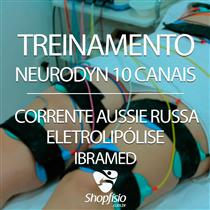 Treinamento - Neurodyn 10 Canais - Corrente Aussie Russa Eletrolipólise - Ibramed