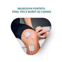 Treinamento Neurodyn Portátil - Tens, Fes E Burst 02 Canais - Ibramed