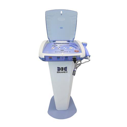 Sonopulse II Ibramed - Aparelho de Terapia Combinada (4x1) com Rack - Linha Premium