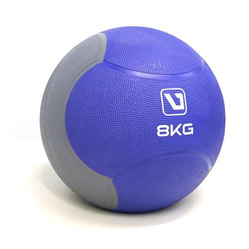 Medicine Ball 8Kg Para Treinamento Funcional - Liveup