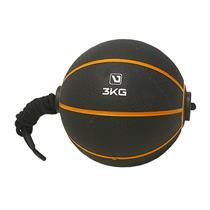 Medicine Ball 3Kg Com Corda Para Treinamento Funcional - Liveup