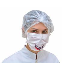 Máscara Descartável Tripla Elástico Sorriso - Cx C/ 50 Un - Protdesc
