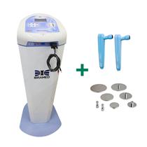 Neurodyn High Volt Ibramed para Estética e Fisioterapia + Kit Eletroporação com Rack - Linha Premium