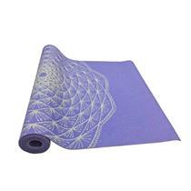 Tapete Yoga Mat Em Pvc Eco Com Impressão - Hopumanu ROXO