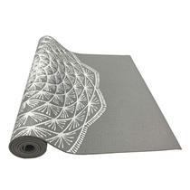 Tapete Yoga Mat Em Pvc Eco Com Impressão - Hopumanu CINZA