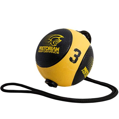 Medicine Ball Com Corda 3Kg Pretorian Performance