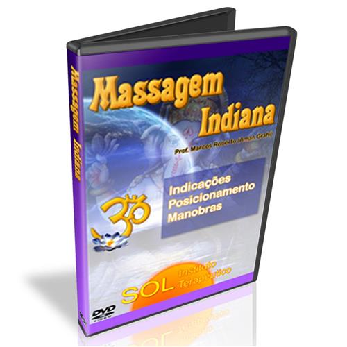 Dvd - Massagem Indiana