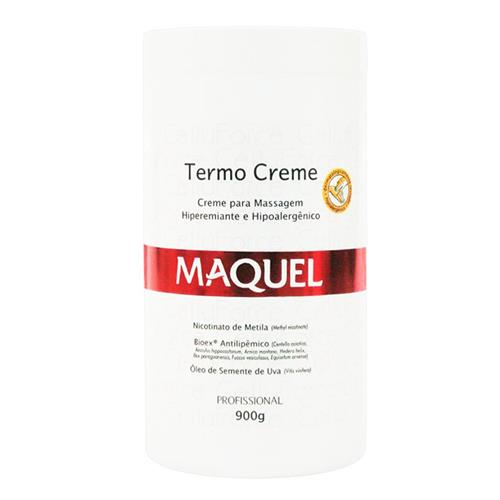 Creme Termo Maquel  Para Massagem Redutora 900G - Cellu Force
