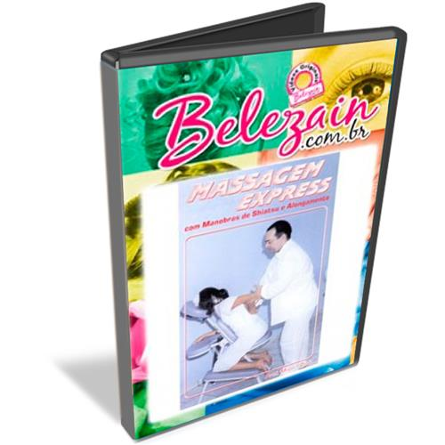 Dvd Massagem Express Na Cadeira
