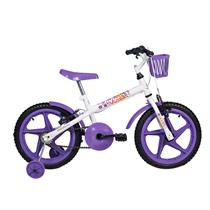 Bicicleta Infantil Feminina Aro 16 Fofys - Verden Bikes LILÁS