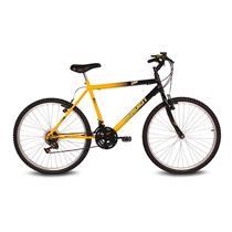 Bicicleta Masculina Aro 26 Com 18 Marchas Live - Verden Bikes AMARELO