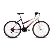 Bicicleta Feminina Aro 26 Com 18 Marchas Live - Verden Bikes VIOLETA