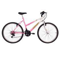 Bicicleta Feminina Aro 26 Com 18 Marchas Live - Verden Bikes ROSA