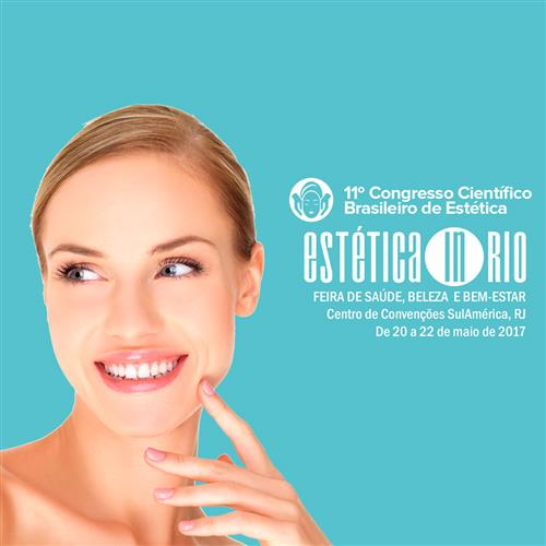Convite Estética In Rio: 3 Dias De Congresso + Feira