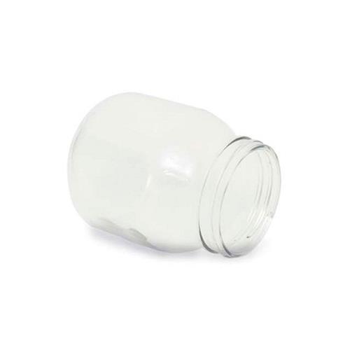 Reservatório De Vidro Com 1 Rosca Para Peeling De Cristal - Shopfisio