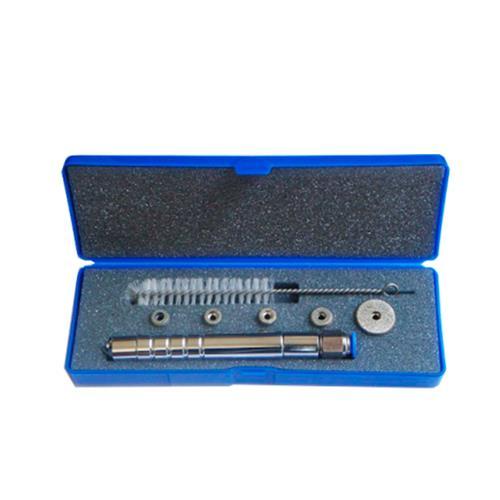 Kit Caneta Peeling Diamantada Corpo De Alumínio C/ 5 Ponteiras - Shopfisio