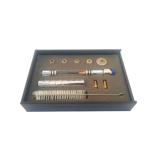 Kit Caneta Peeling Diamantada Luxo - Corpo De Acrílico E Alumínio C/ 5 Ponteiras - Shopfisio