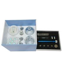 Kit Dermoterapia C/ 8 Ventosas, C/ Peeling Diamante, 5 Ponteiras E Estojo Organizador - Shopfisio