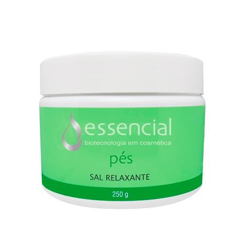 Sal Relaxante Para Escalda-Pés - Menta, Melaleuca E Erva Doce 250G - Essencial