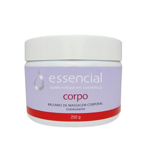 Bálsamo De Massagem Corporal Estimulante 250G - Essencial