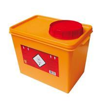 Coletor Rígido Para Resíduos Tóxicos 7 Litros - Descarpack