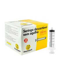 Seringa Para Medicamentos Sem Agulha - Bico Luer Lock - Descarpack