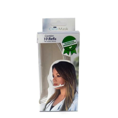 Refil Para Clearmask - Máscara Protetora Salivar C/ 10Un - Estek