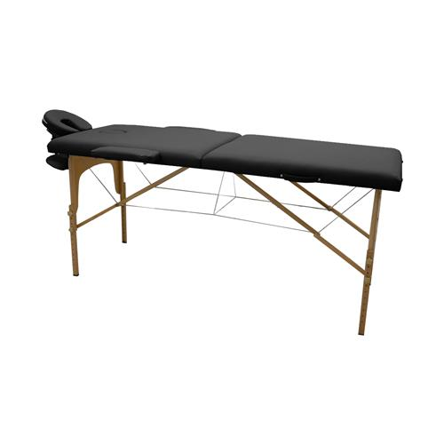 Maca De Massagem Portátil Com Altura Regulável E Bolsa Para Transporte Luxo - Goldlife