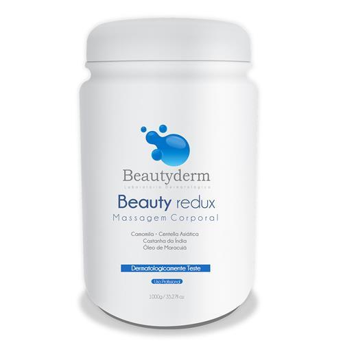 Creme De Massagem Para Redução De Gordura E Celulite Beauty Redux 1Kg - Beauty Derm