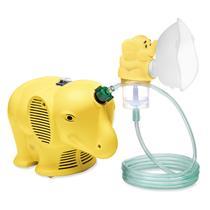 Inalador Compressor Inalafante Infantil- Bivolt - Ns AMARELO
