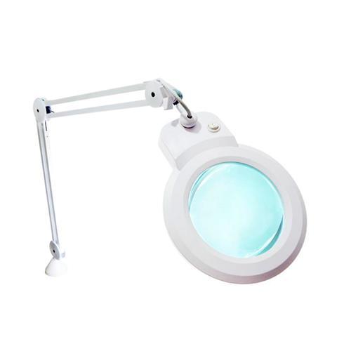 Lupa De Bancada Com Iluminação Led 5D Hl-900 - Solver