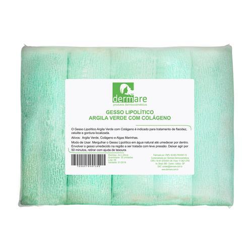 Gesso Lipolítico Com Argila Verde E Colágeno 5Un - Dermare