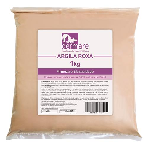 Argila Roxa - Firmeza E Elasticidade - Dermare
