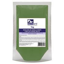 Máscara De Argila Verde Com Chá Verde Em Pó 1Kg - Dermare