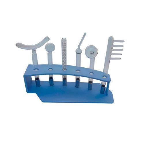 Kit Eletrodos Hf E Rack Organizador - Shopfisio