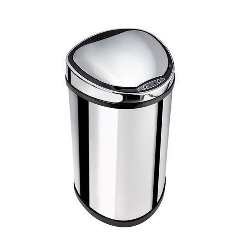 Lixeira Automática De Aço Inox 25 Litros - Biovis