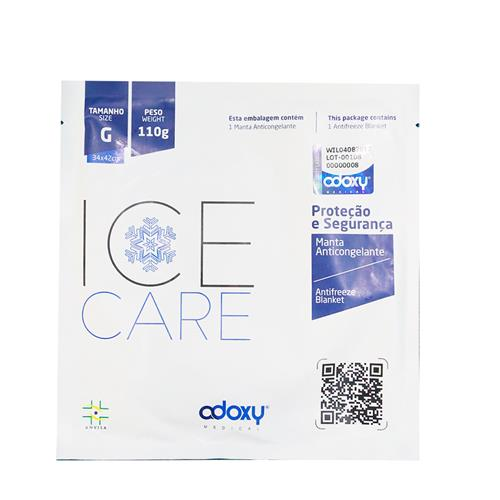 Manta Para Criolipólise Ice Care 1 Un - Adoxy