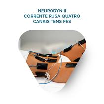 Treinamento Neurodyn Ii - Corrente Russa Quatro Canais Tens Fes - Ibramed