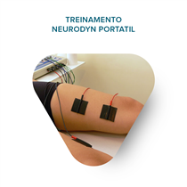 Treinamento - Neurodyn Portátil Tens 02 Canais - Ibramed