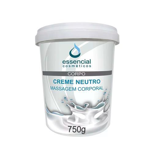 Creme Neutro Para Massagem Corporal 750G - Essencial