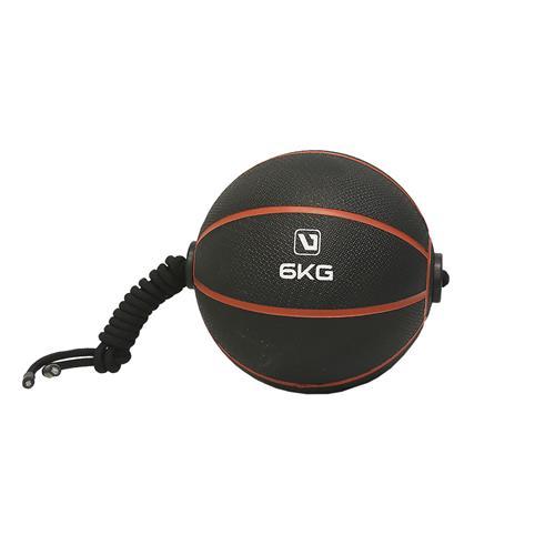 Medicine Ball 6Kg Com Corda Para Treinamento Funcional - Liveup