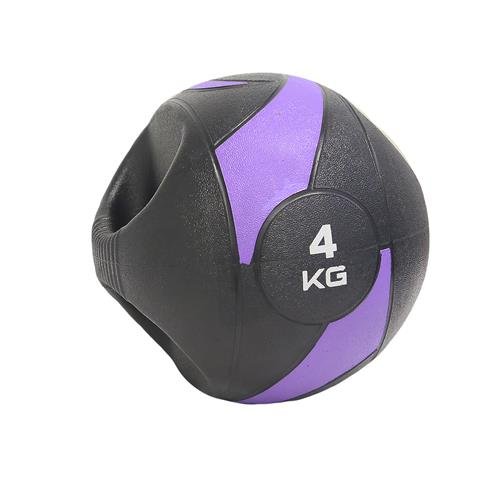 Medicine Ball 4Kg Com Pegada - Liveup