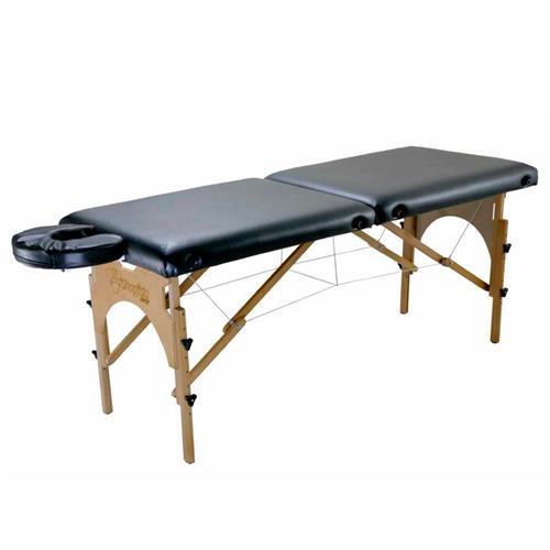 Maca De Massagem Portátil Com Altura Regulável E Orifício Para Fisioterapia E Estética Premium - Shopfisio