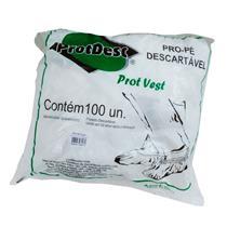 Sapatilha Descartável Pro-Pé Branca C/ 100 Un - Protdesc